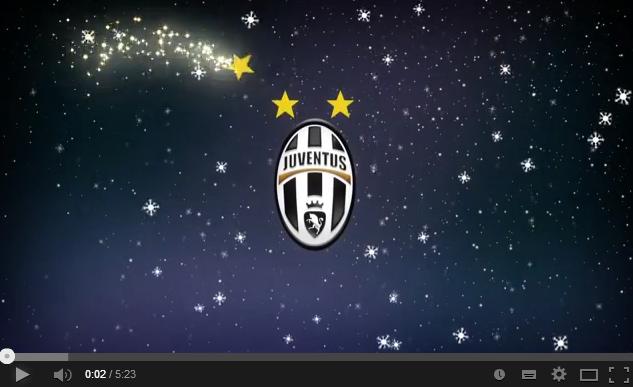 Juventus Buon Natale.La Juve Augura Buon Natale Ai Suoi Tifosi Video