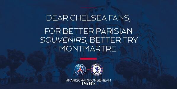 tweet PSG