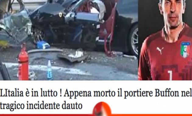 Buffon morto