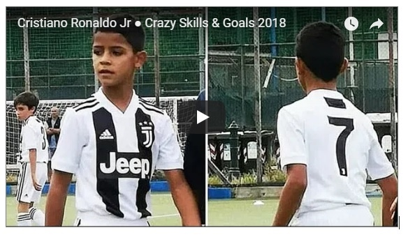Cristiano Ronaldo Junior 2