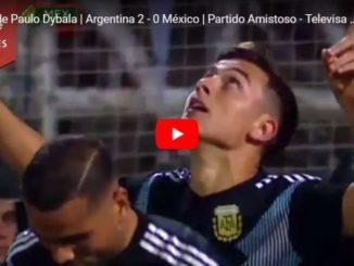 dybala primo gol argentina